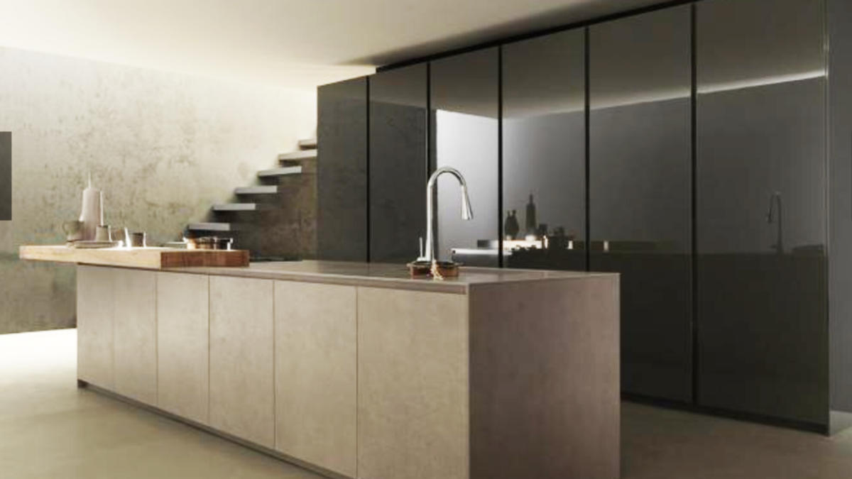 Cucina moderna a  Parigi