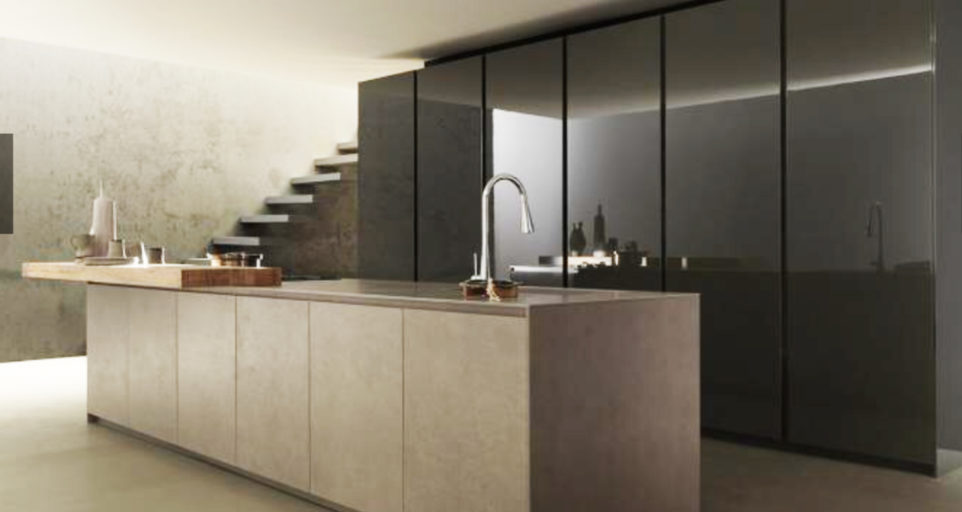 Modern kitchen in Paris