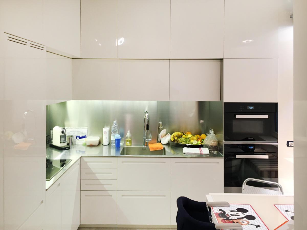 Kitchen in Via Bigli Milan