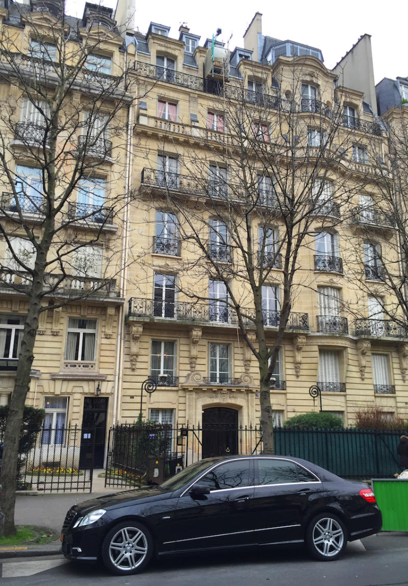 Elegante attico nel centro di Parigi