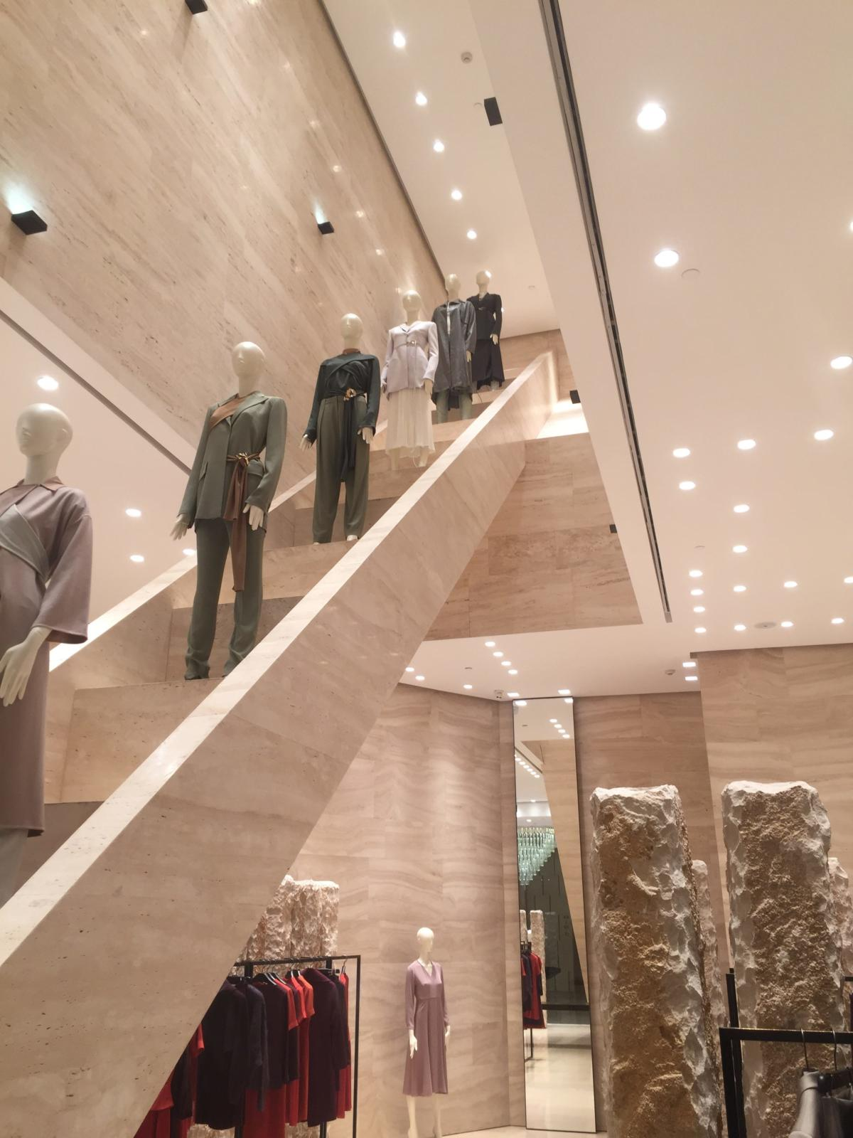 Fashion store in the center of fashion in Chongqing China