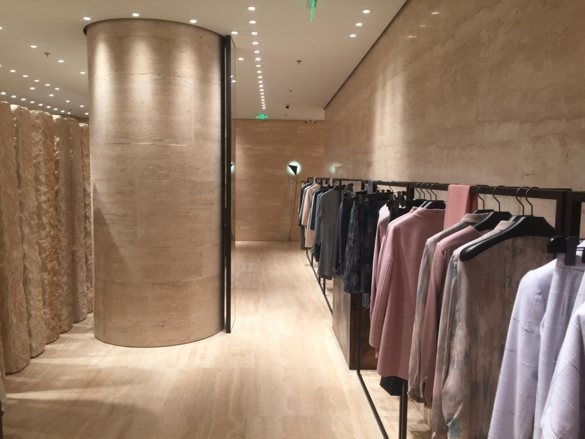 Negozio nel cuore della moda di Dalian Cina dentro hotel Shangri-La