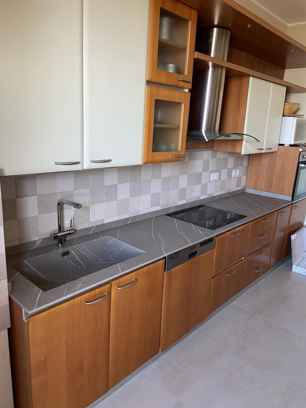 Kitchen top replacement