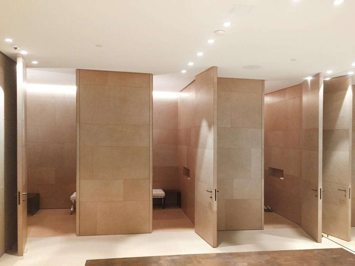 fitting rooms